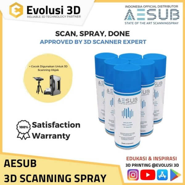 Aesub 3D Scanning Spray