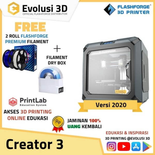 Flashforge 3D Printer Creator 3