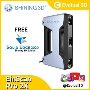 Evolusi 3D Scanner einscan pro 2x