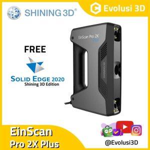 Evolusi 3D Scanner einscan pro 2x Plus