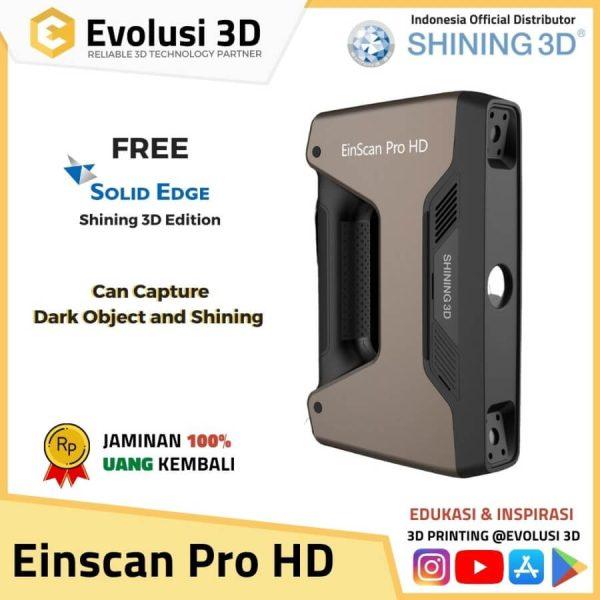 Evolusi 3D Scanner einscan pro HD