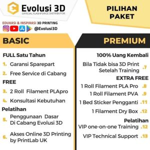 Printer creator 3 evolusi 3d