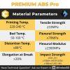 ABS Pro 1Kg 2.85mm Ultimaker Black