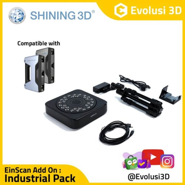 Industrial Pack Add On For Einscan Pro 2x plus