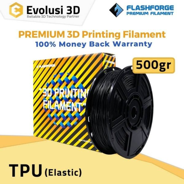 Elastic TPU 95a 500g Rubber Yellow