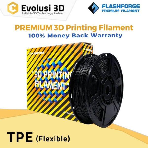 Flexible TPE 1Kg 1.75mm Rubber Black