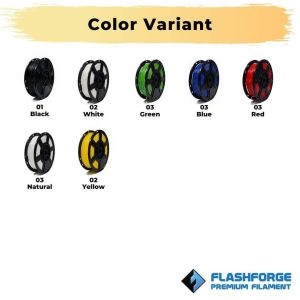 Color Variant Flexible TPE 1Kg 1.75mm Rubber Black
