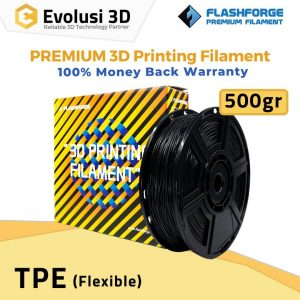 Flexible TPE 500g 1.75mm Rubber Hitam