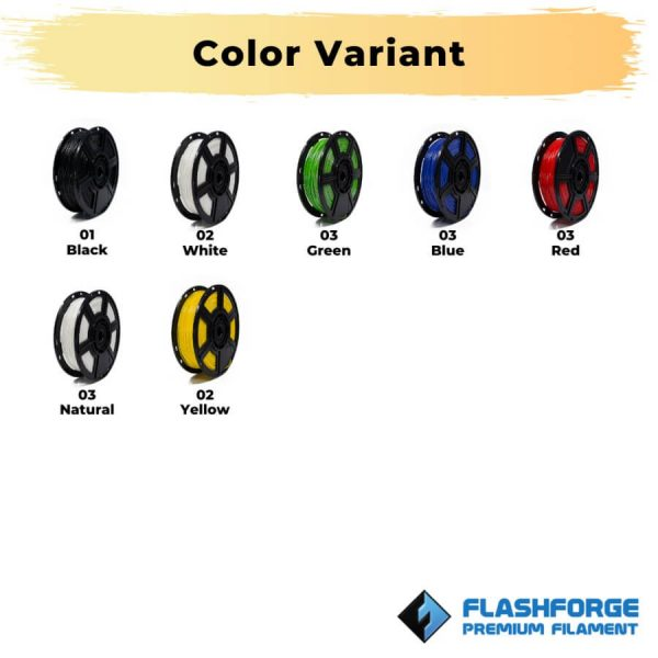 Color Variant Flexible TPE 500g 1.75mm Rubber