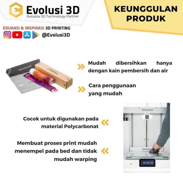 Keunggulan Magigoo PC Series 50ml Glue Stick Polycarbonate