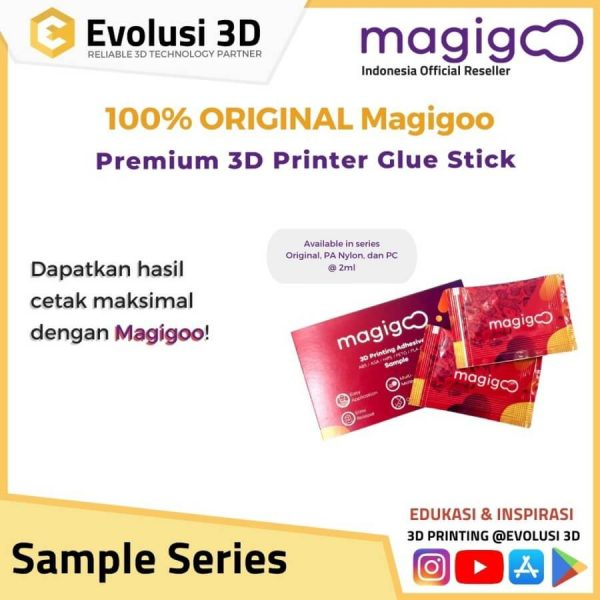 Magigoo Sample Series Glue Stick ABS Nylon PC Original