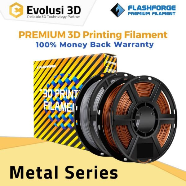 Metal 1Kg 1.75mm Filament Bronze Aluminum Cooper