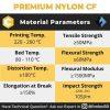 PA CF 500g Nylon Carbon Fiber