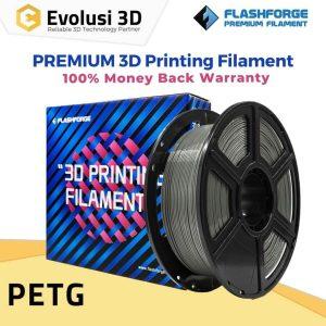 PETG 1kg Premium Filament 1,75mm Silver