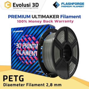 PETG 1kg Filament For Ultimaker Black