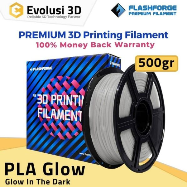 PLA Glow 500gr White to Green