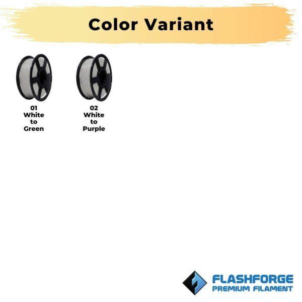 Color variant premium PLA Glow