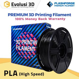 PLA High Speed 1Kg 1.75mm Filament Black