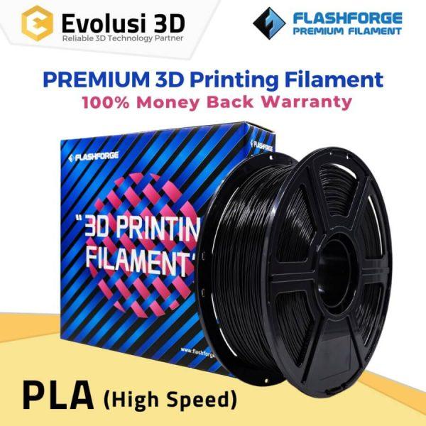 PLA High Speed 1Kg 1.75mm Filament Black