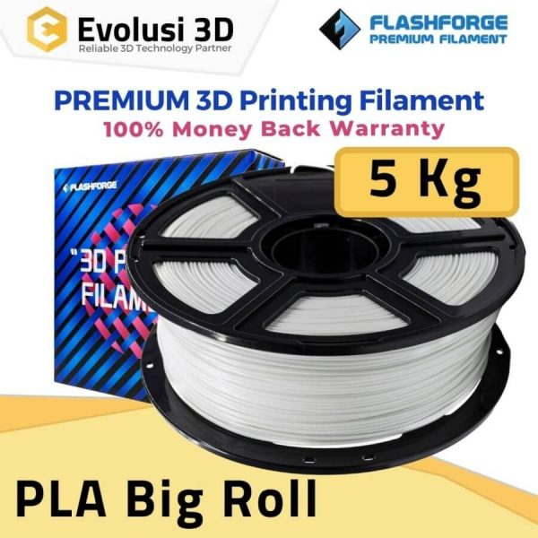 PLA Pro Big Roll 5kg White