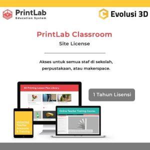 PrintLab 3D Kurikulum Lisensi Staff Sekolah