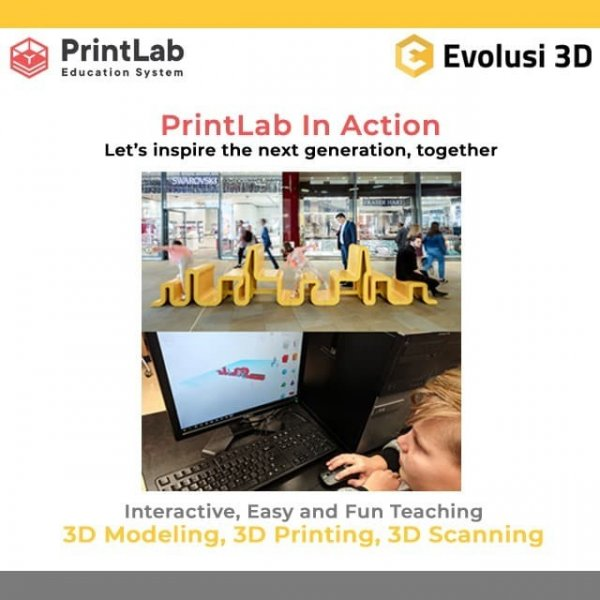 PrintLab in Action CLassroom Instructor License