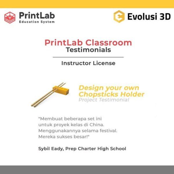 PrintLab Classroom Testimonials Instructor License