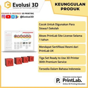 Keunggulan printlab educate package evousi 3d