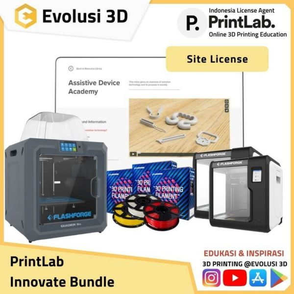 Paket printlab innovate package evolusi 3d