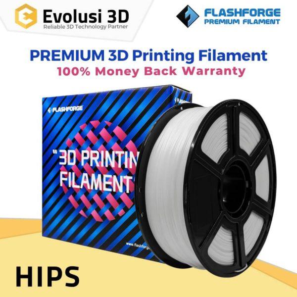 Tinta Spesial Filament HIPS 1kg Natural