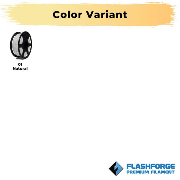 Color Variant Tinta Spesial Filament PP 750gr Natural