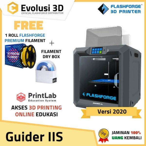 Paket flashforge guider IIS evolusi 3d