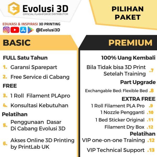 Printer guider IIS evolusi 3d