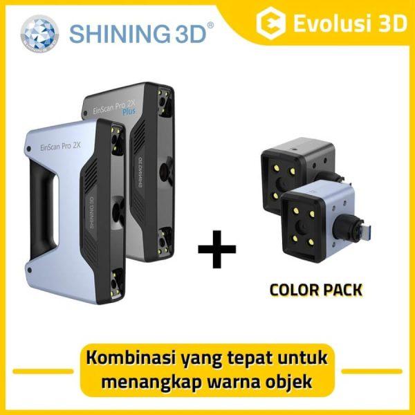 3D scanner color pack add on